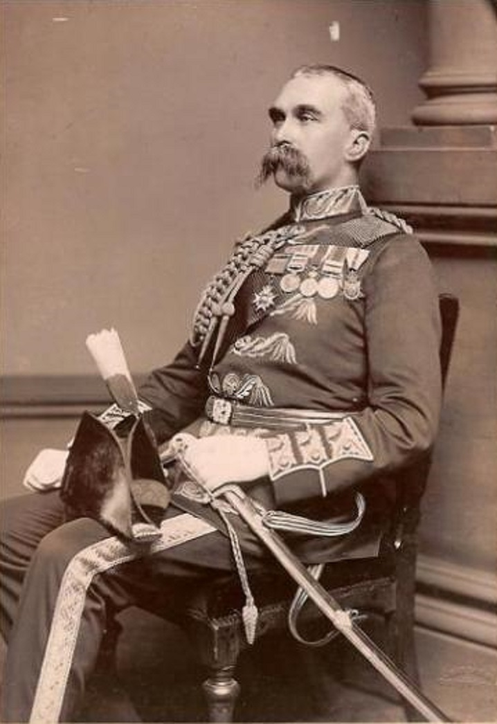 Major General Alfred Gaselee - c. 1900.  Public domain via Wikimedia. He commanded the British and Allied army which ransacked Beijing.