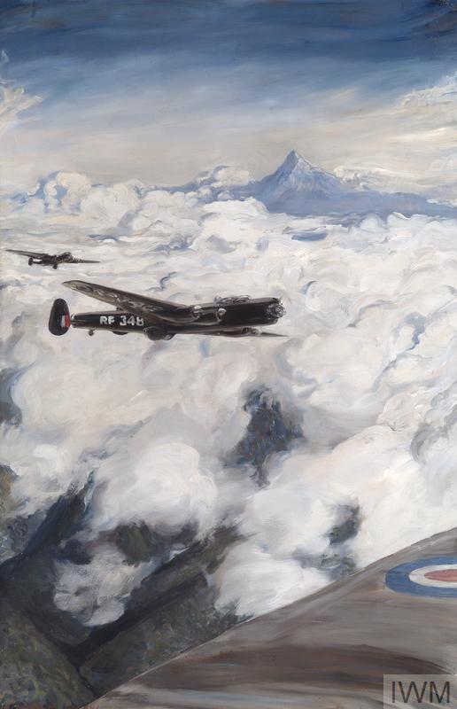 RAF LIncoln bombers during operation Mushroom