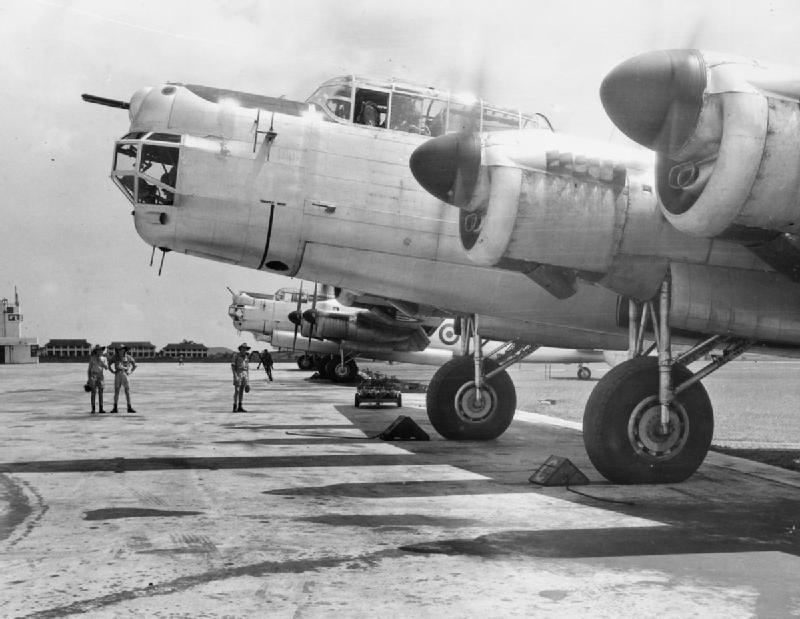 RAF Lincoln bomber