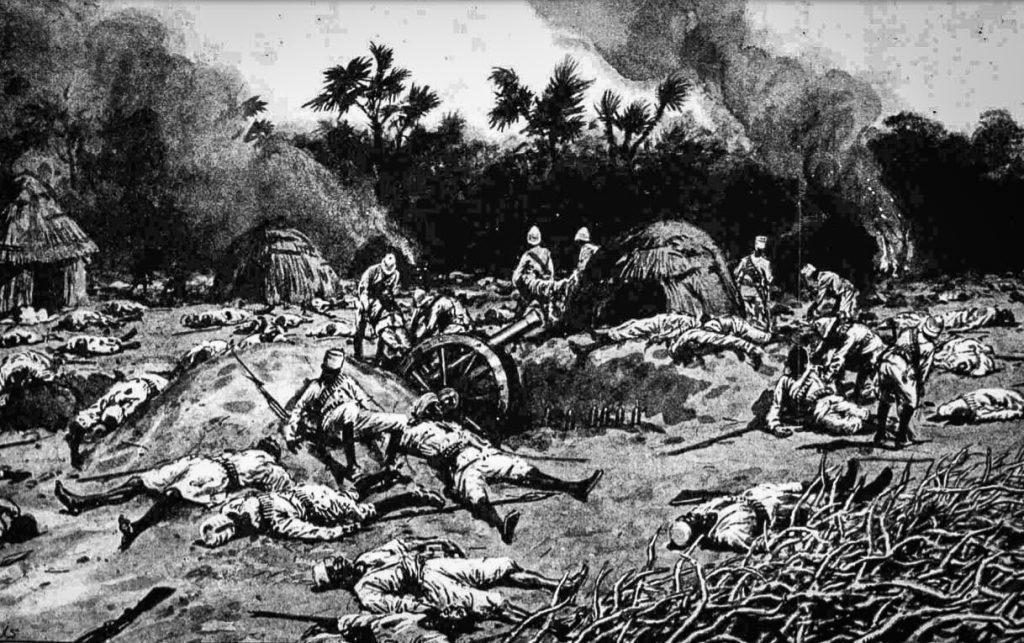 After the battle of Atbara