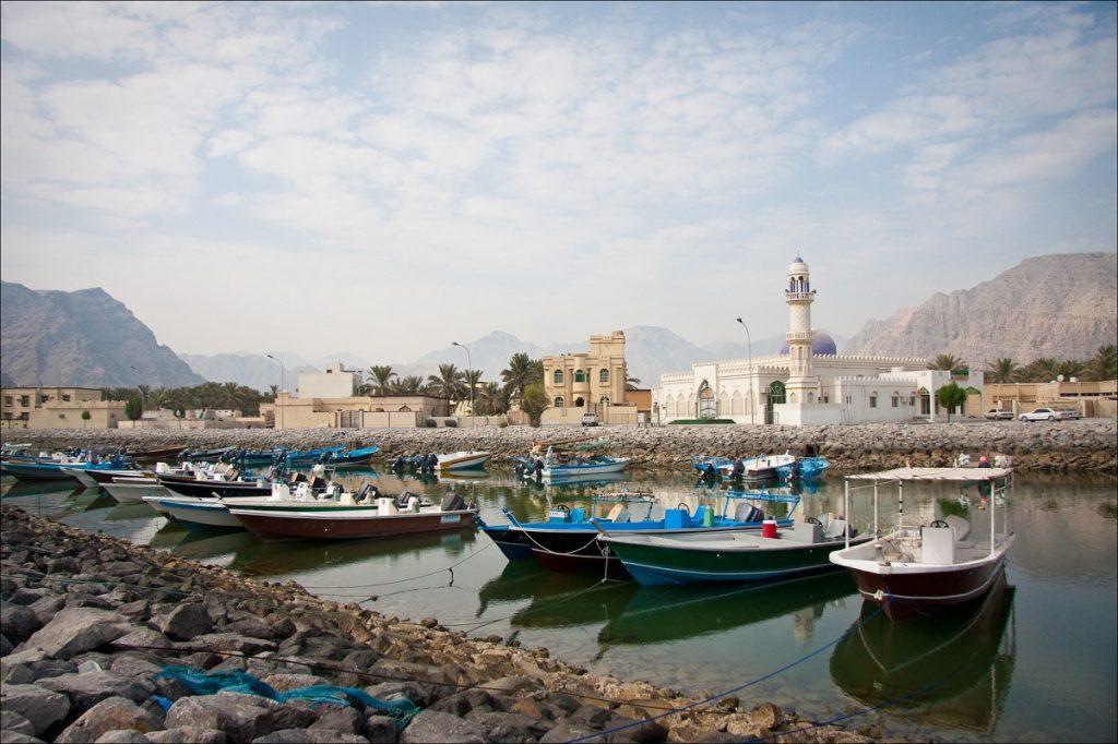 Khasab harbour - Photograph by Owen Jones - CC BY-NC-SA 2.0